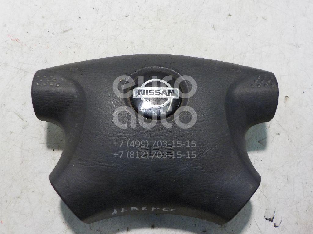 Подушка безопасности в рулевое колесо для Nissan Almera N16 2000-2006;Micra (K11E) 1992-2002;Primera WP11E 1998-2001;Primera P11E 1996-2002 - Фото №1