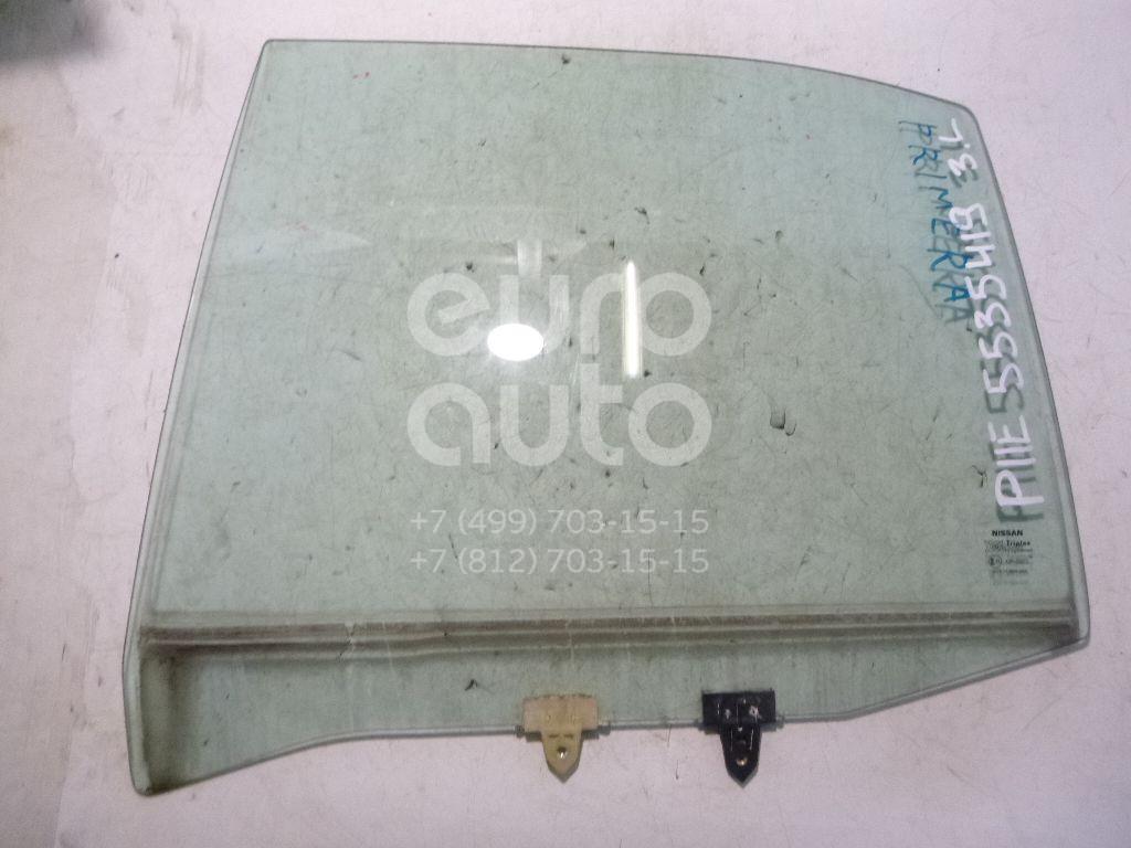 Стекло двери задней левой для Nissan Primera P11E 1996-2002 - Фото №1