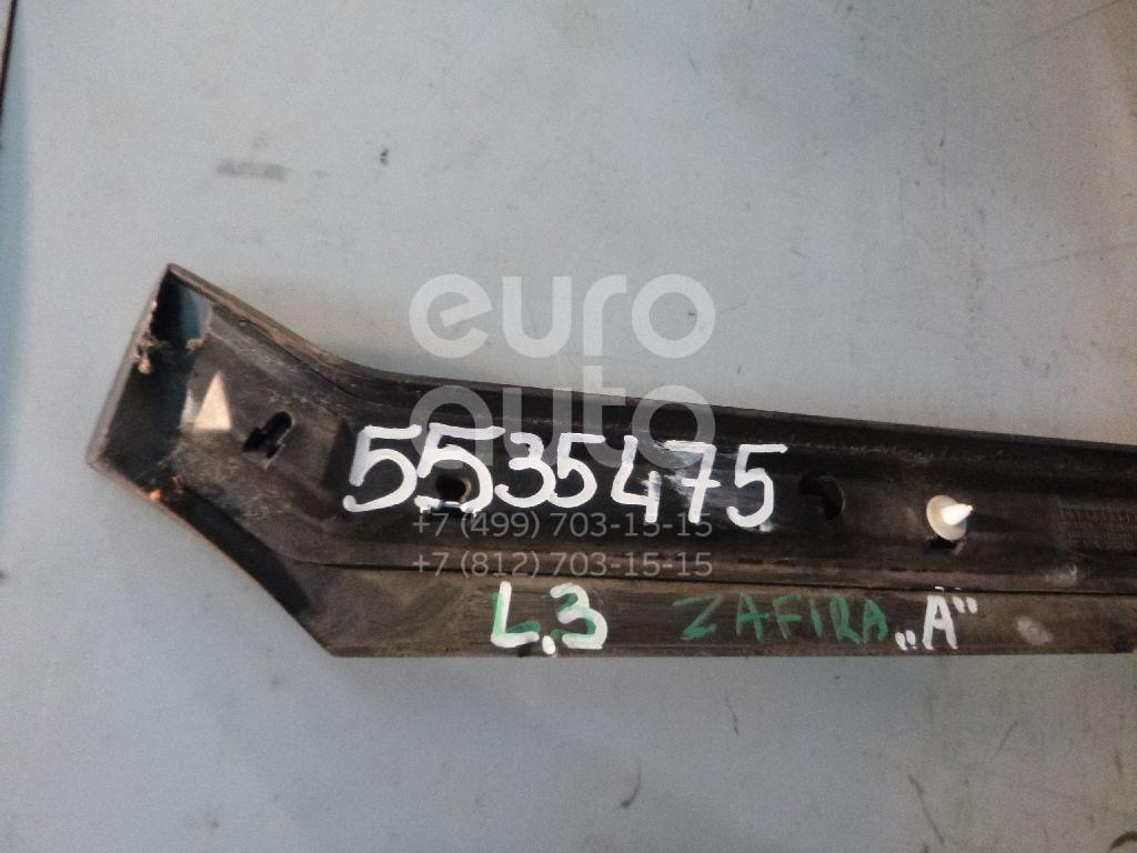 Молдинг задней левой двери для Opel Zafira (F75) 1999-2005 - Фото №1
