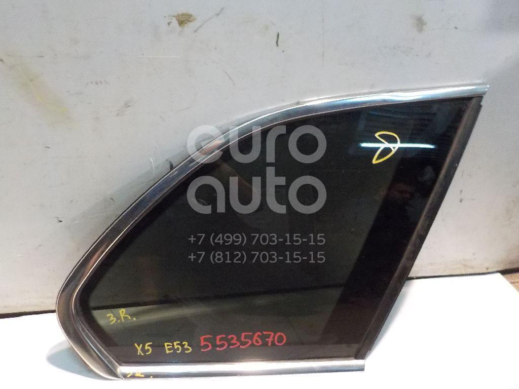 Стекло кузовное глухое правое для BMW X5 E53 2000-2007 - Фото №1