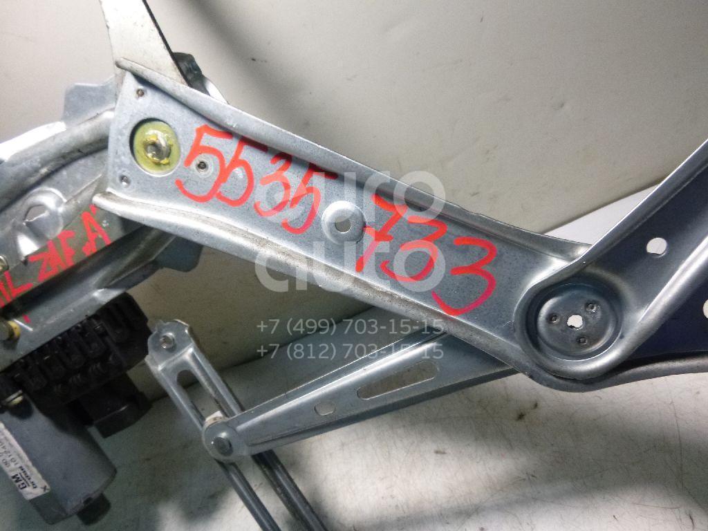 Стеклоподъемник электр. передний левый для Opel Zafira (F75) 1999-2005;Astra G 1998-2005 - Фото №1