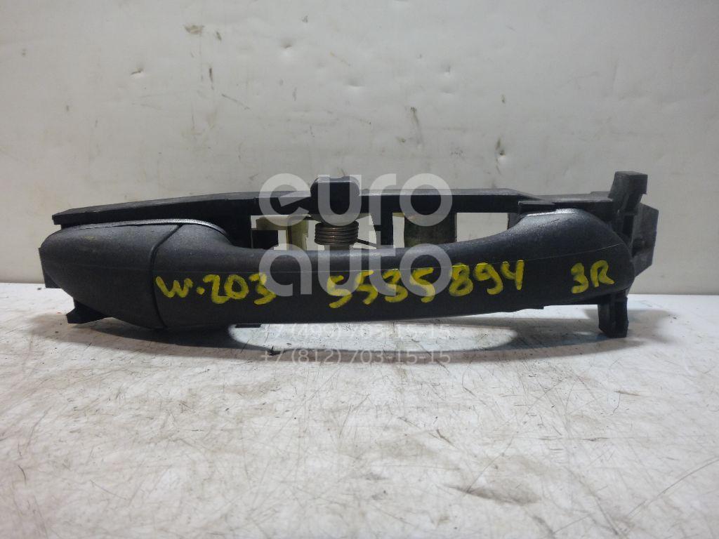 Ручка двери задней наружная правая для Mercedes Benz W203 2000-2006;W211 E-Klasse 2002-2009 - Фото №1