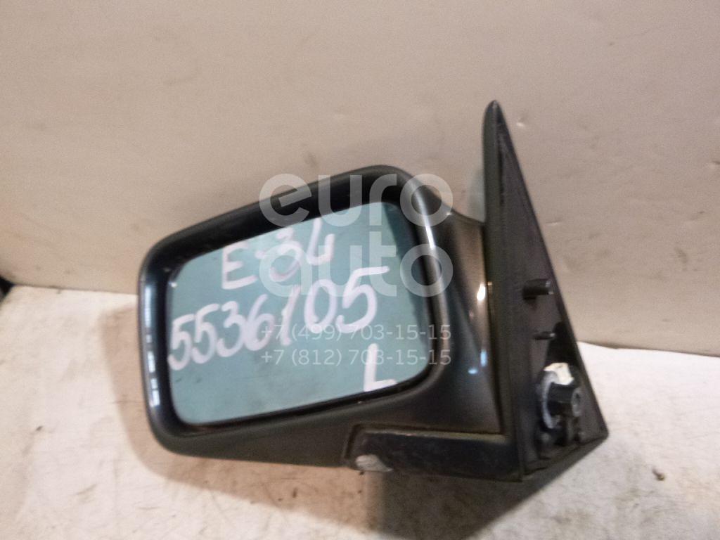 Зеркало левое электрическое для BMW 5-серия E34 1988-1995 - Фото №1