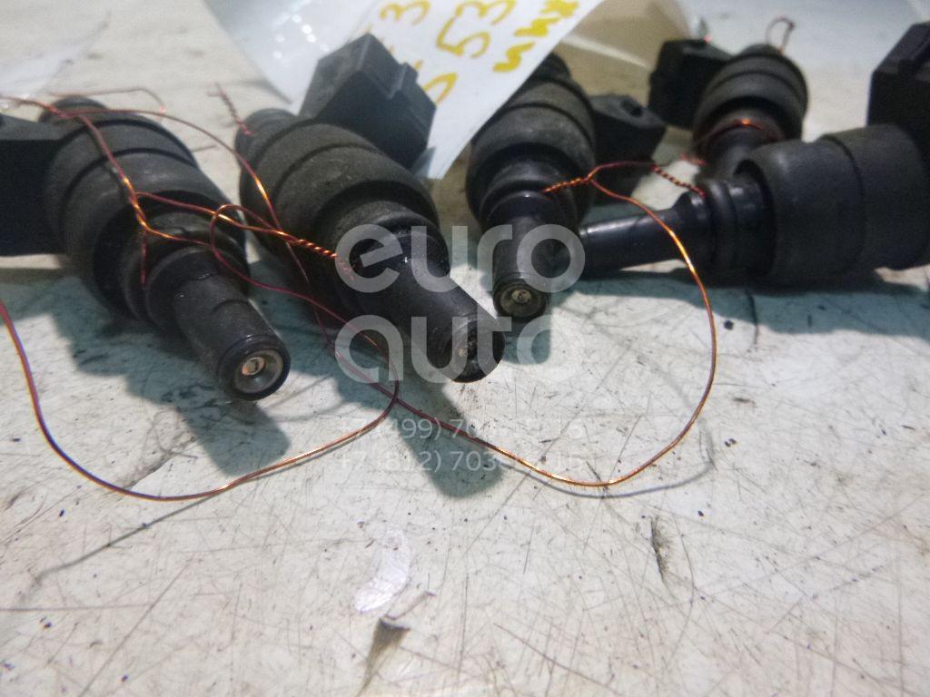 Форсунка инжекторная электрическая для BMW 5-серия E39 1995-2003;3-серия E46 1998-2005;7-серия E38 1994-2001;Z3 1995-2003;X3 E83 2004-2010;5-серия E60/E61 2003-2009;Z4 E85/E86 2002-2008 - Фото №1