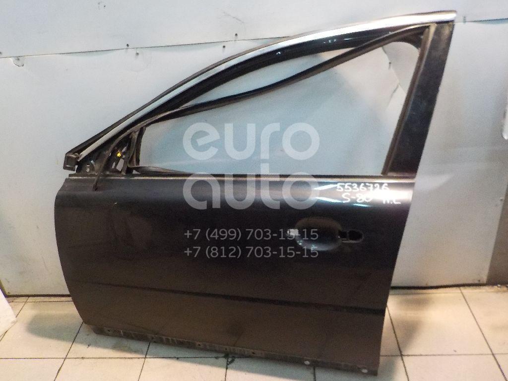 Дверь передняя левая для Volvo S80 2006-2016;XC70 Cross Country 2007> - Фото №1