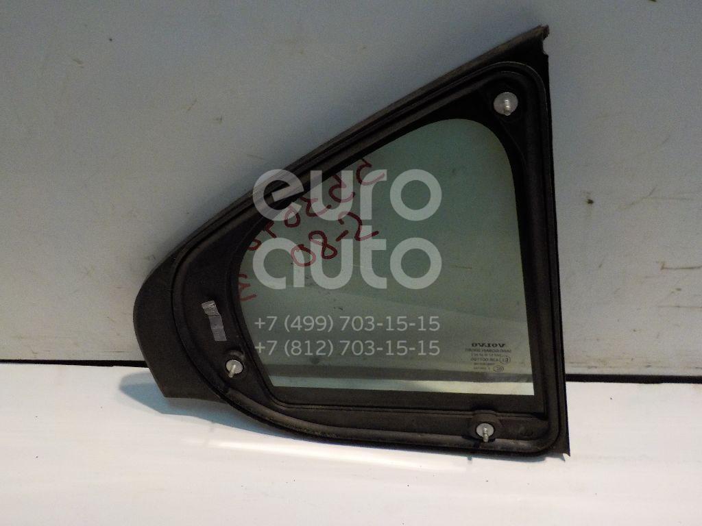 Стекло двери задней левой (форточка) для Volvo S80 2006-2016 - Фото №1
