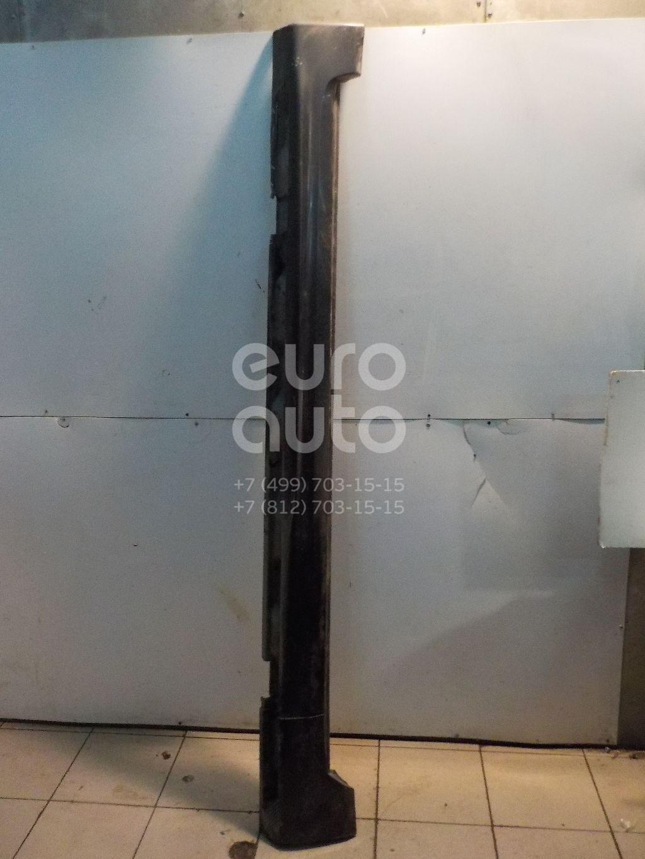 Накладка на порог (наружная) для Volvo S80 2006-2016 - Фото №1
