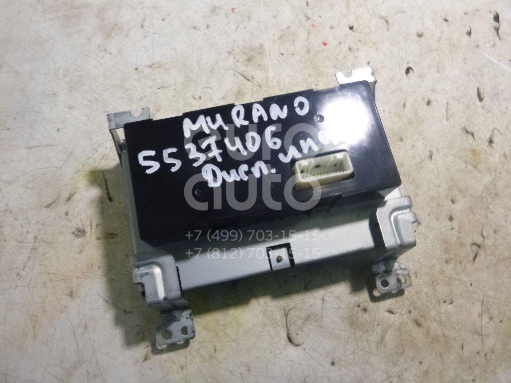 Дисплей информационный для Nissan,Infiniti Murano (Z50) 2004-2008;FX (S50) 2003-2007 - Фото №1