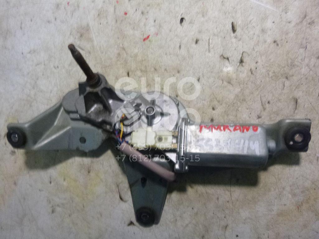 Моторчик стеклоочистителя задний для Nissan Murano (Z50) 2004-2008 - Фото №1