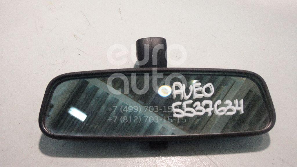 Зеркало заднего вида для Chevrolet,Daewoo Aveo (T250) 2005-2011;Aveo (T200) 2003-2008;Lacetti 2003-2013;Rezzo 2005-2010;Gentra II 2013-2015 - Фото №1