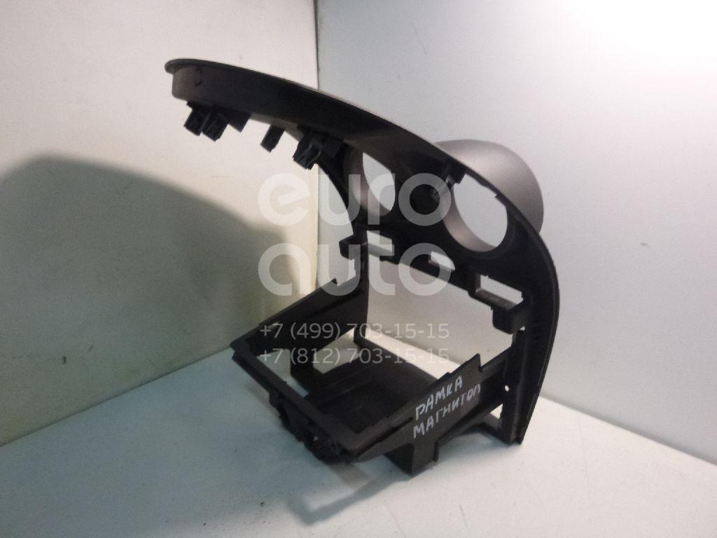 Рамка магнитолы для Ford Fiesta 2001-2008 - Фото №1