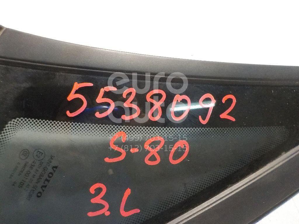 Стекло кузовное глухое левое для Volvo S80 1998-2006 - Фото №1