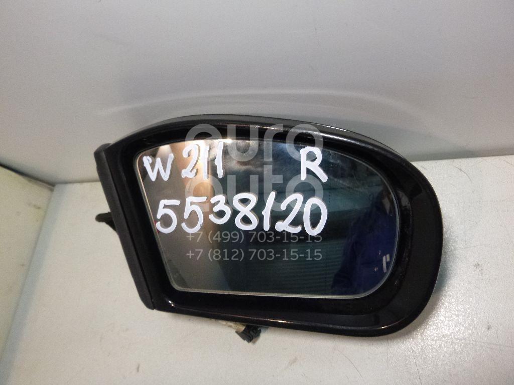 Зеркало правое электрическое для Mercedes Benz W211 E-Klasse 2002-2009 - Фото №1