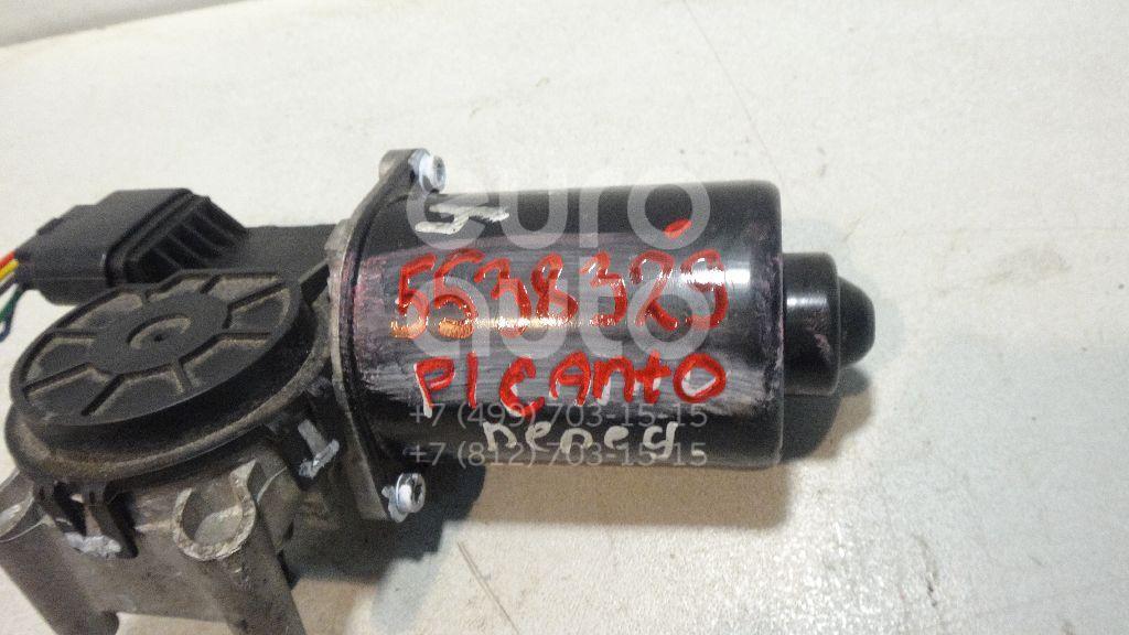 Моторчик стеклоочистителя передний для Kia Picanto 2005-2011 - Фото №1