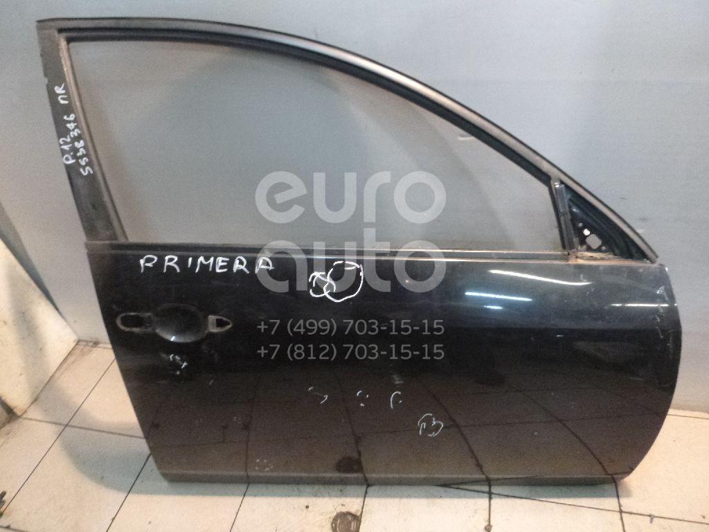 Дверь передняя правая для Nissan Primera P12E 2002-2007 - Фото №1