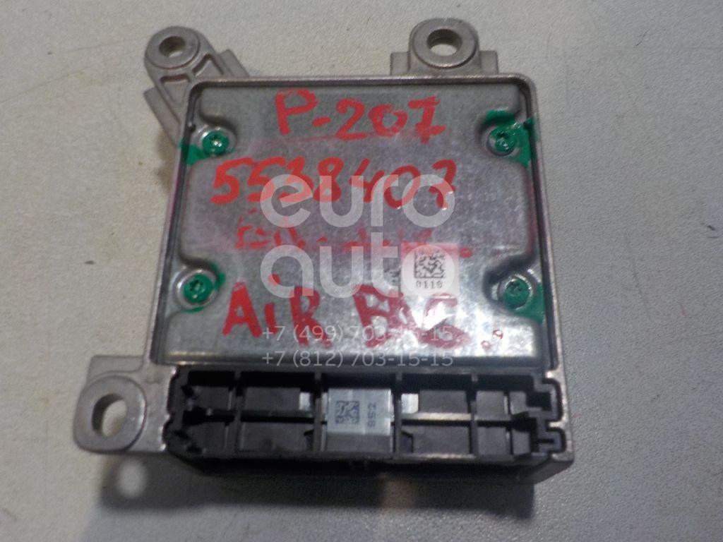 Блок управления AIR BAG для Peugeot 207 2006-2013 - Фото №1