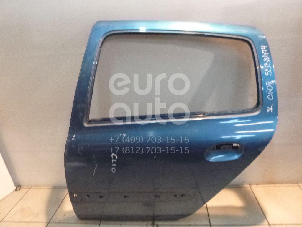 Дверь задняя левая для Renault Clio/Symbol 1998-2008 - Фото №1