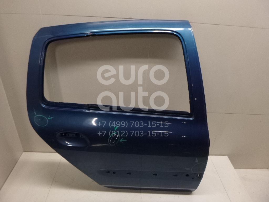 Дверь задняя правая для Renault Clio/Symbol 1998-2008 - Фото №1