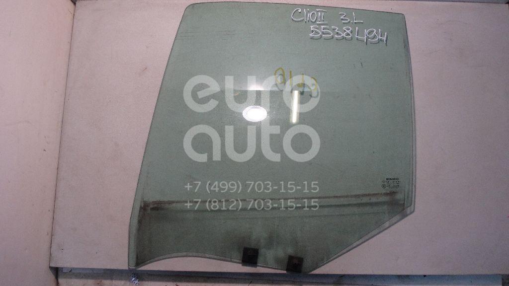 Стекло двери задней левой для Renault Clio II/Symbol 1998-2008 - Фото №1