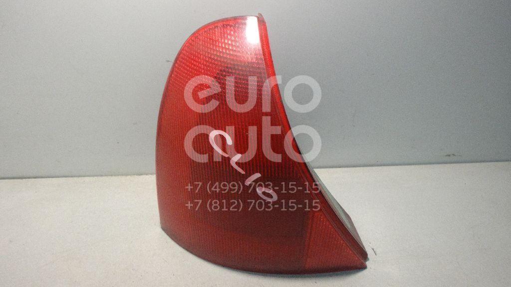 Фонарь задний левый для Renault Clio II/Symbol 1998-2008 - Фото №1