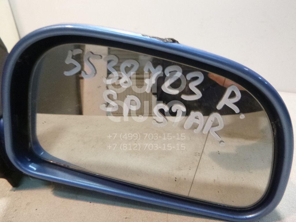 Зеркало правое механическое для Mitsubishi Space Star 1998-2004 - Фото №1