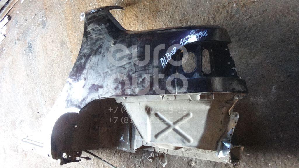Крыло заднее левое для Fiat Albea 2002-2012 - Фото №1