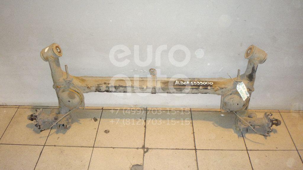 Балка задняя для Fiat Albea 2002-2012 - Фото №1