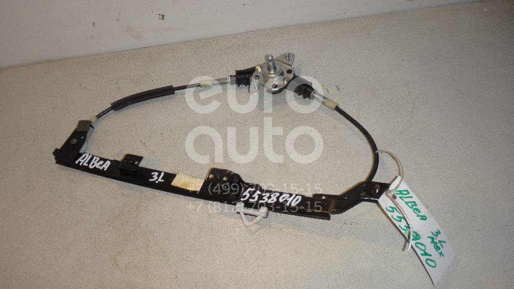 Стеклоподъемник механ. задний левый для Fiat Albea 2002-2012;Palio 1996-2009 - Фото №1
