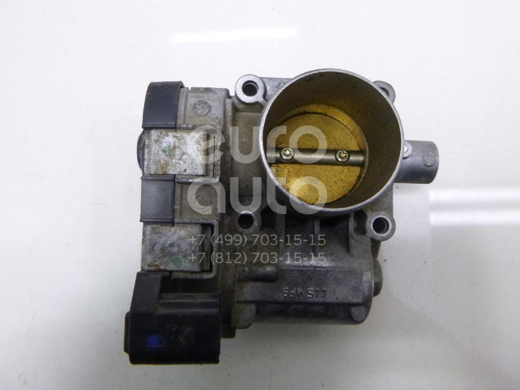 Заслонка дроссельная электрическая для Fiat Albea 2002-2012;Punto /Grande Punto 199 2005>;Doblo 2005-2015 - Фото №1