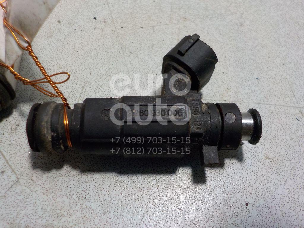 Форсунка инжекторная электрическая для Hyundai,Kia Getz 2002-2010;Elantra 2000-2005;Matrix 2001-2010;Coupe (GK) 2002-2009;Cerato 2004-2008;Accent II (+ТАГАЗ) 2000-2012 - Фото №1