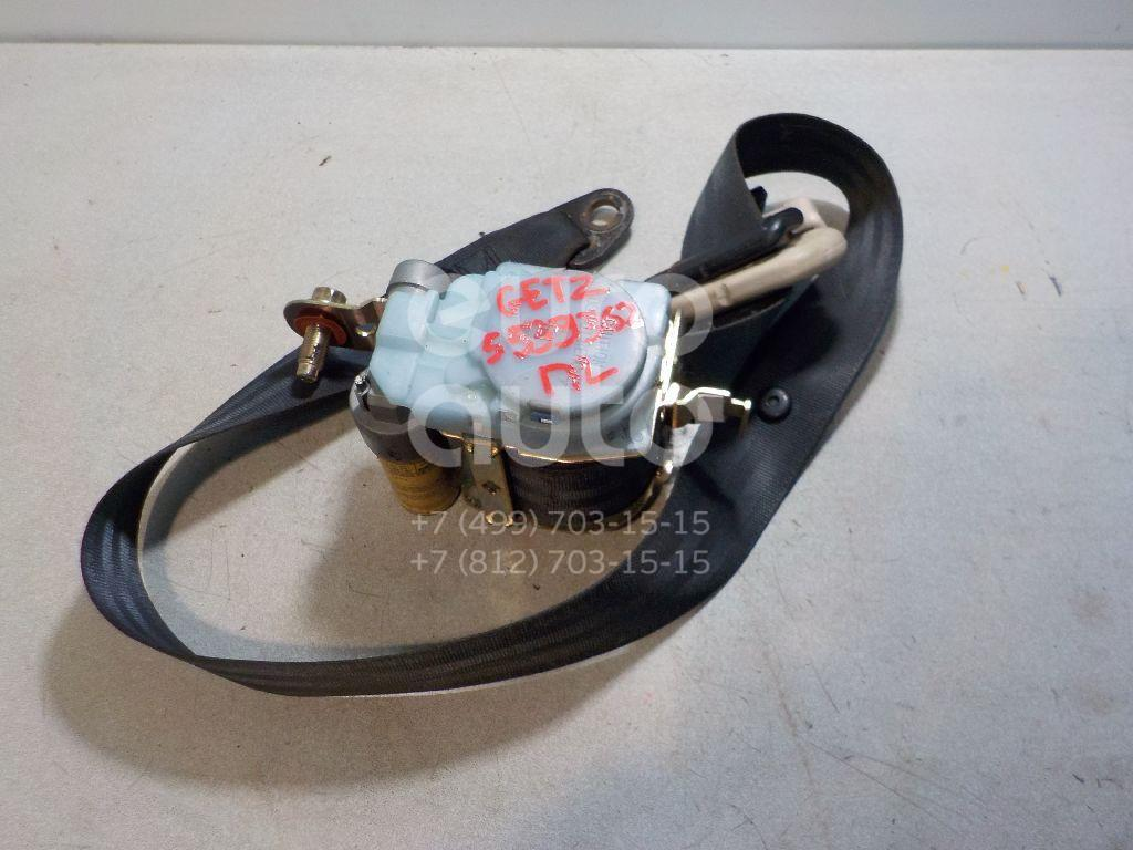Ремень безопасности с пиропатроном для Hyundai Getz 2002-2010 - Фото №1