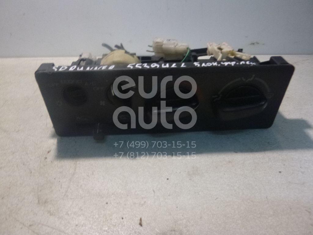 Блок управления отопителем для Mitsubishi Space Runner (N1,N2) 1991-1999;Space Wagon (N3,N4) 1991-2000 - Фото №1