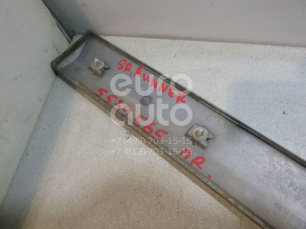 Молдинг передней правой двери для Mitsubishi Space Runner (N1,N2) 1991-1999;Space Wagon (N3,N4) 1991-2000 - Фото №1
