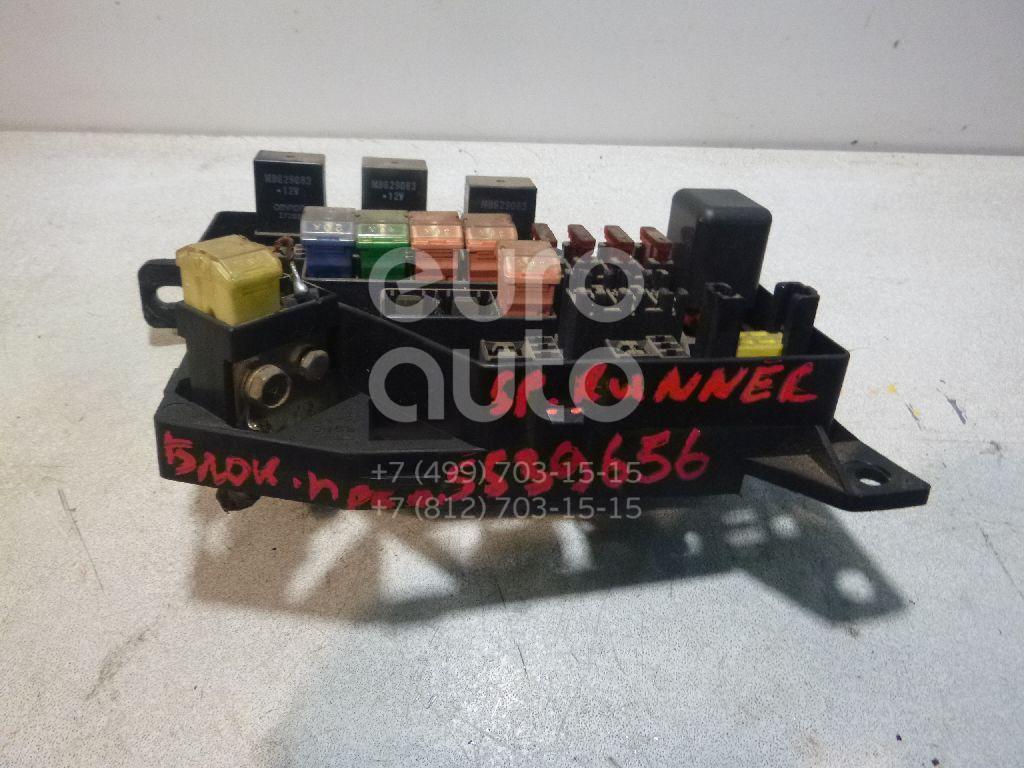 Блок предохранителей для Mitsubishi Space Runner (N1,N2) 1991-1999;Space Wagon (N3,N4) 1991-2000 - Фото №1