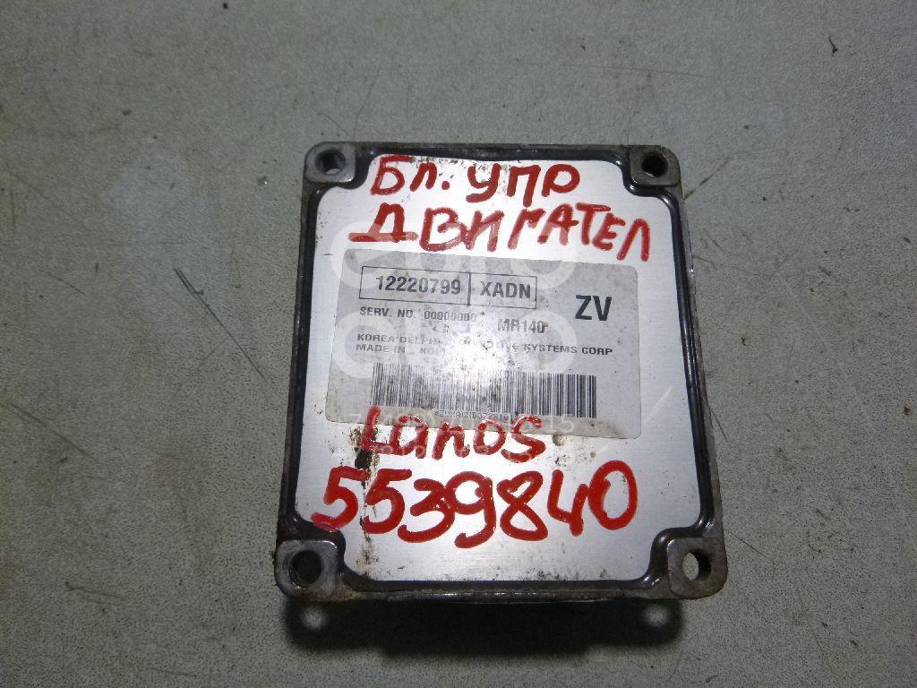 Блок управления двигателем для Chevrolet Lanos 2004> - Фото №1