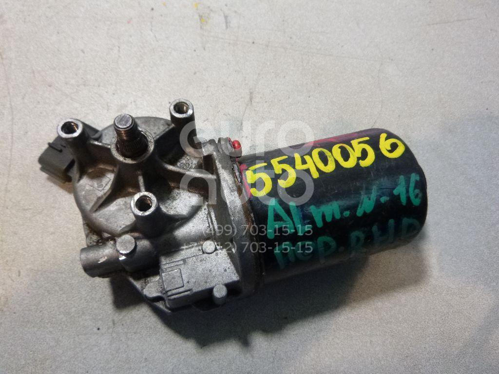 Моторчик стеклоочистителя передний для Nissan Almera N16 2000-2006 - Фото №1