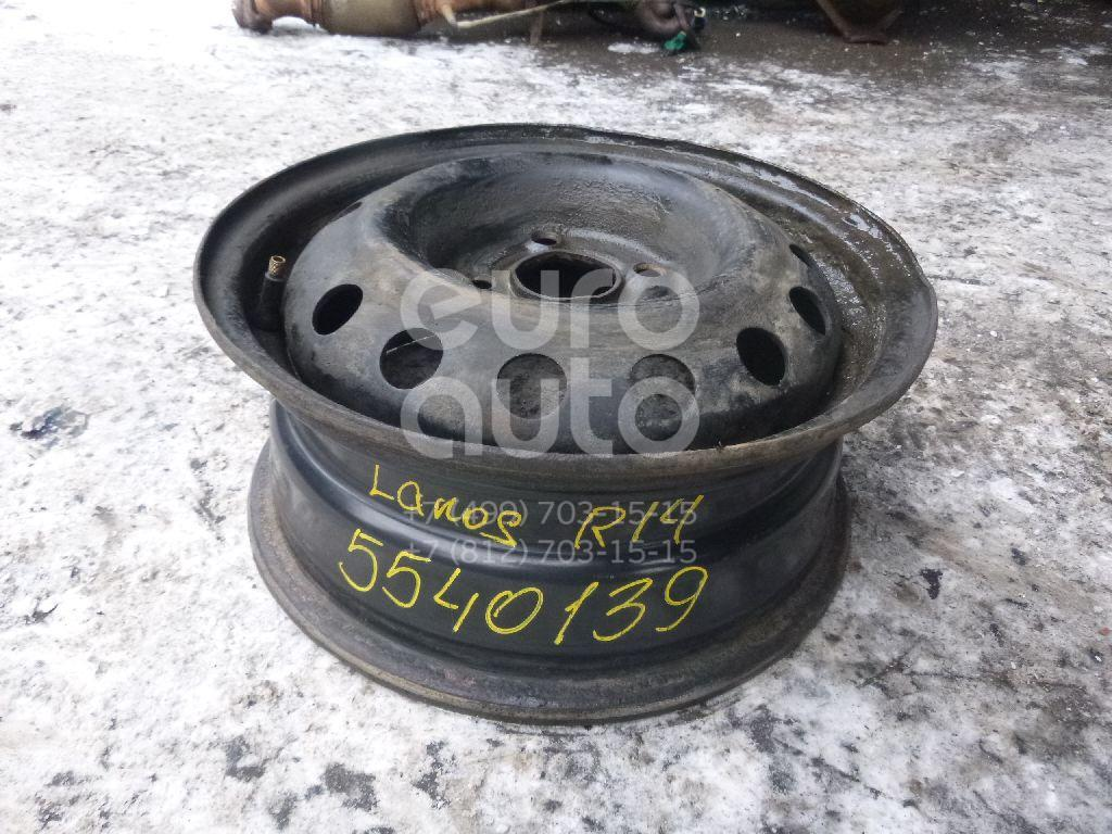Диск колесный железо для Chevrolet Lanos 2004> - Фото №1