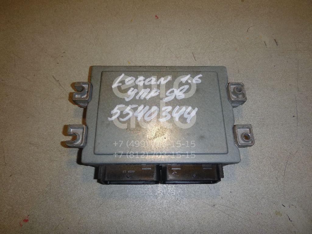 Блок управления двигателем для Renault Logan 2005-2014 - Фото №1