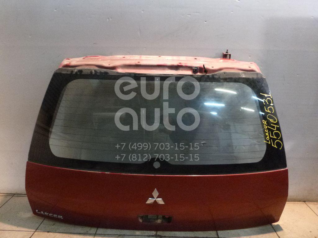 Дверь багажника со стеклом для Mitsubishi Lancer (CS/Classic) 2003-2006 - Фото №1