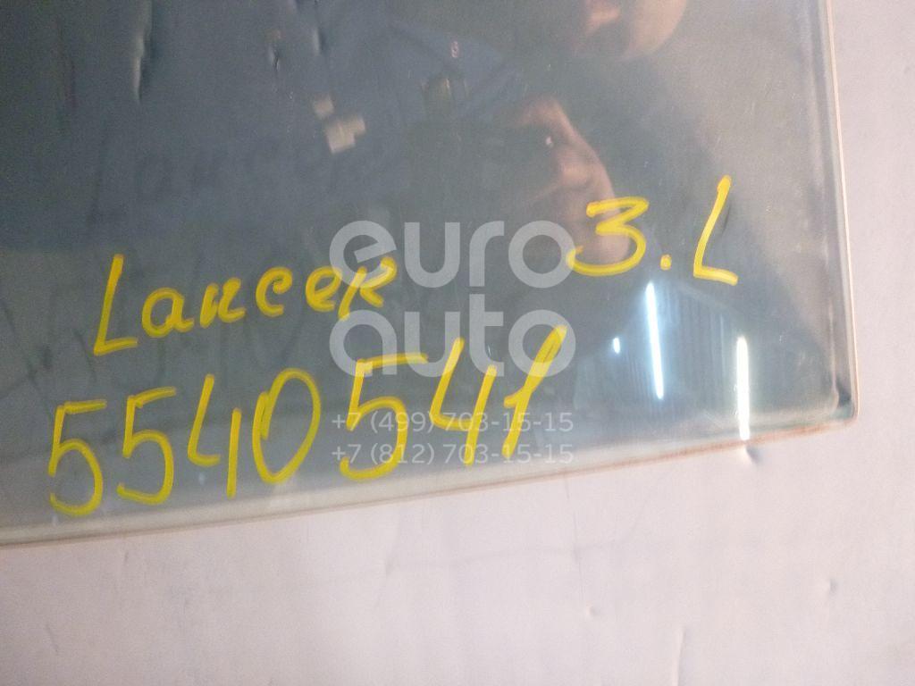 Стекло двери задней левой для Mitsubishi Lancer (CS/Classic) 2003-2008 - Фото №1
