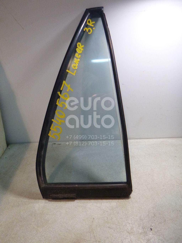 Стекло двери задней правой (форточка) для Mitsubishi Lancer (CS/Classic) 2003-2007 - Фото №1