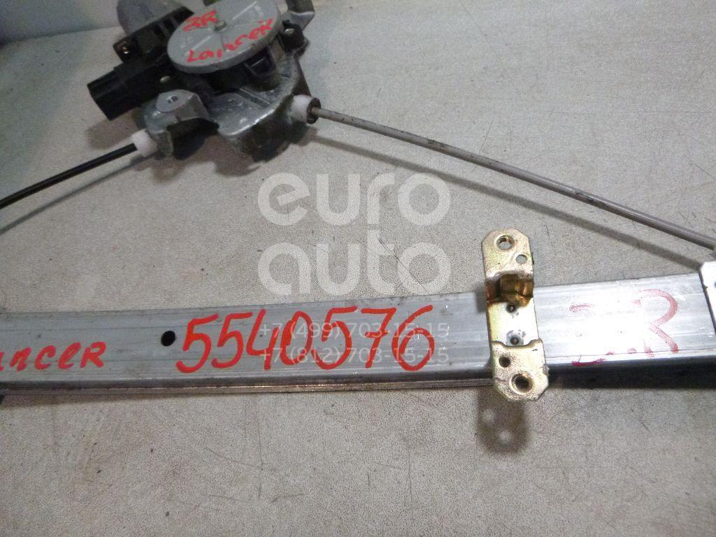 Стеклоподъемник электр. задний правый для Mitsubishi Lancer (CS/Classic) 2003-2007 - Фото №1
