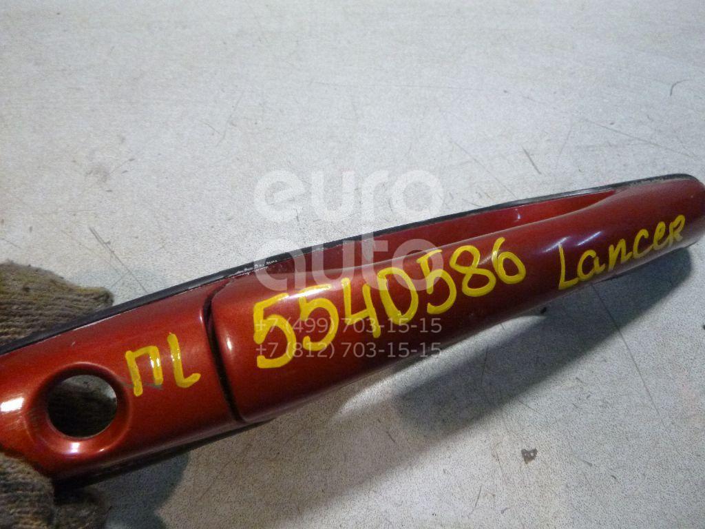 Ручка двери передней наружная левая для Mitsubishi Lancer (CS/Classic) 2003-2007;Grandis (NA#) 2004-2010;Outlander (CU) 2003-2009;Lancer Cedia (CS) 2000-2003 - Фото №1