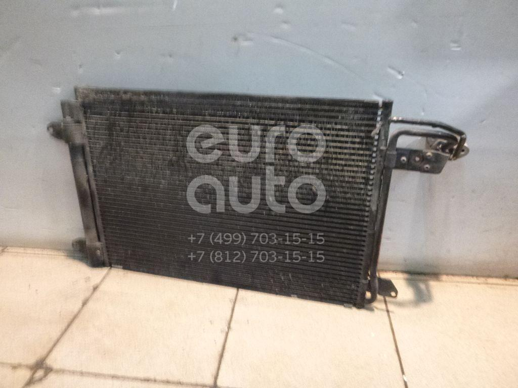 Радиатор кондиционера (конденсер) для VW,Audi,Skoda,Seat Jetta 2006-2011;Caddy III 2004-2015;Golf Plus 2005-2014;Golf V 2003-2009;Touran 2003-2010;A3 [8P1] 2003-2013;Octavia (A5 1Z-) 2004-2013;Leon (1P1) 2005-2013;Altea 2004-2015;Toledo III 2004-2009 - Фото №1
