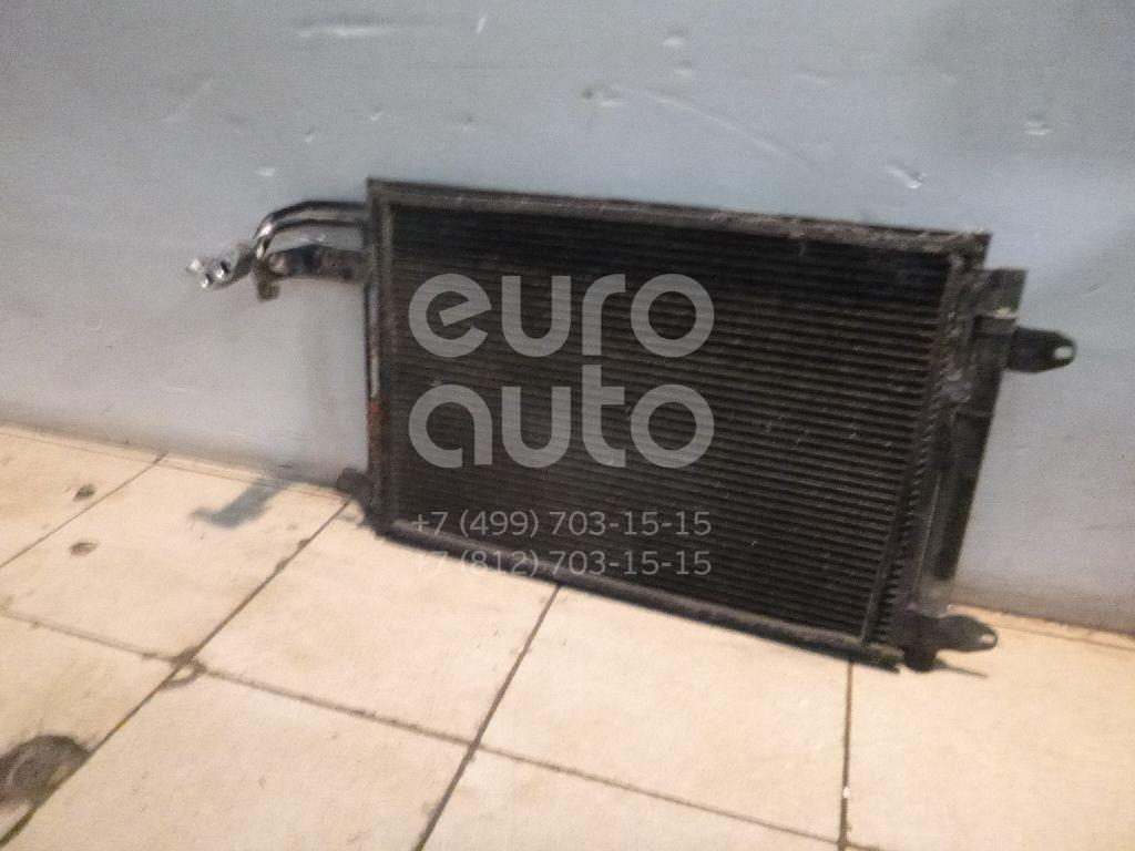 Радиатор кондиционера (конденсер) для VW,Audi,Skoda,Seat Jetta 2006-2011;Caddy III 2004-2015;Golf V Plus 2005-2014;Golf V 2003-2009;Touran 2003-2010;A3 [8P1] 2003-2013;Octavia (A5 1Z-) 2004-2013;Leon (1P1) 2005-2013;Altea 2004-2015;Toledo III 2004-2009 - Фото №1