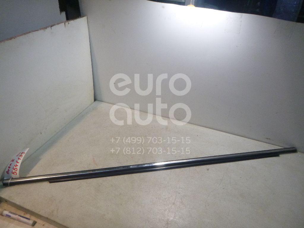 Накладка стекла переднего правого для Toyota Avensis II 2003-2008 - Фото №1