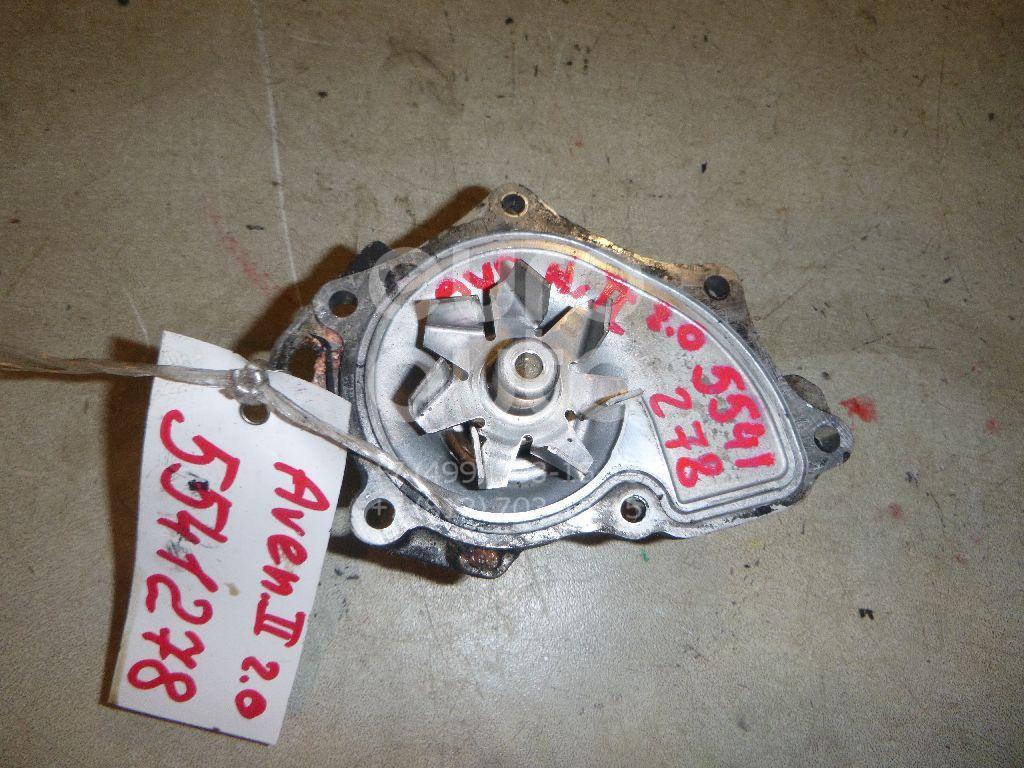 Насос водяной (помпа) для Toyota Avensis II 2003-2008;Camry V30 2001-2006;Avensis Verso (M20) 2001-2009;Camry V40 2006-2011;RAV 4 2000-2005;RAV 4 2006-2013;Highlander I 2001-2006 - Фото №1