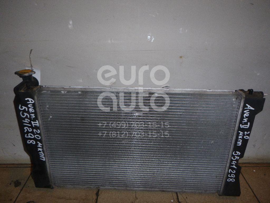 Радиатор основной для Toyota Avensis II 2003-2008 - Фото №1