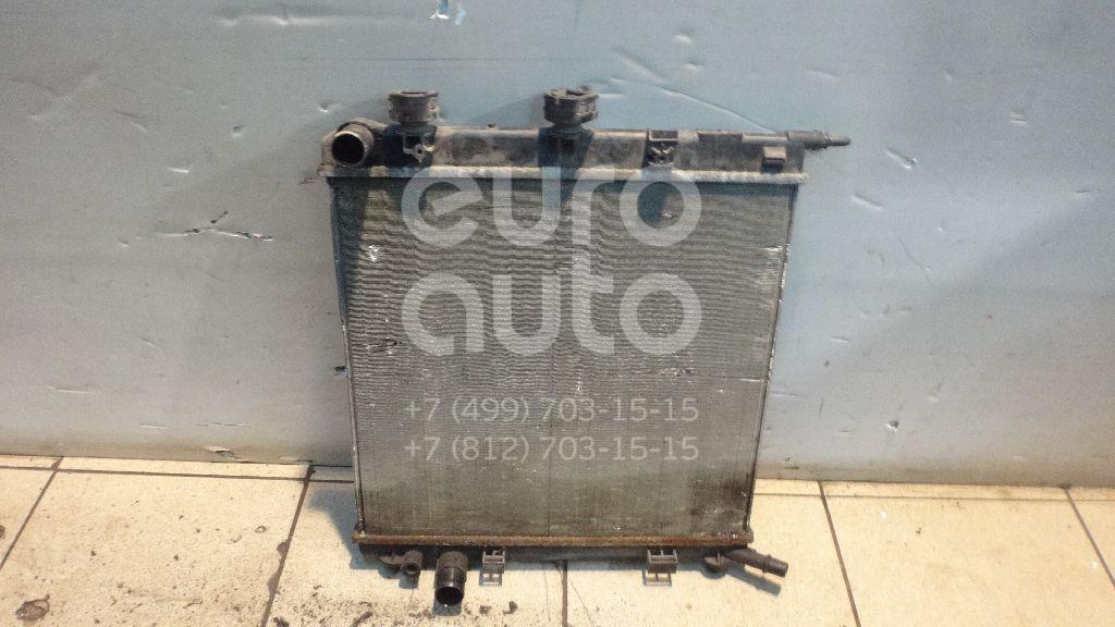 Радиатор основной для Citroen,Peugeot C3 2002-2009;C2 2003-2008;207 2006-2013;1007 2005-2009;C3 2009-2016 - Фото №1