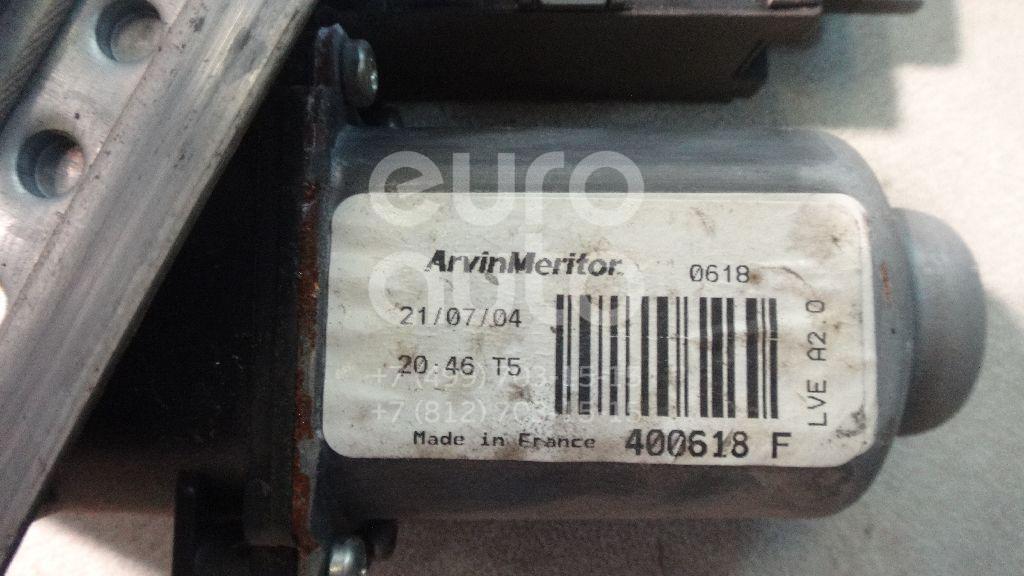 Стеклоподъемник электр. передний правый для Citroen C3 2002-2009 - Фото №1